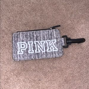 vs pink id clip on